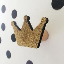 Crown Wooden Clothes Hook Hanger Hook Kids Room Wall Home Decoration