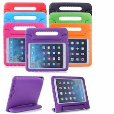 Kids EVA Foam Handle Stand Shockproof Cover Case For Apple iPad+Tempered Film