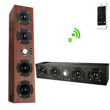 Mini Wooden Wireless Bluetooth Speaker Portable subwoofer for IPhone Android
