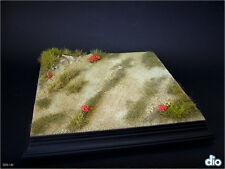 Built & Painted Diorama Base (20x20cm), 1:35 Countryside Dirt Path Section