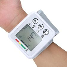 Intelligent pressure Wrist Blood Pressure Pulse Monitor Digital Sphygmomanometer