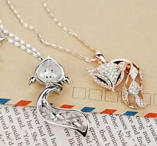 personality The fox With diamond exaggerated Brief paragraph The necklace
