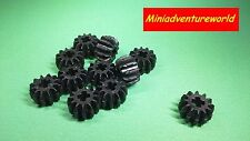 LEGO NEW Black Technic, Gear 12 Tooth Double Bevel Part 32270 Pack of 2 or 4