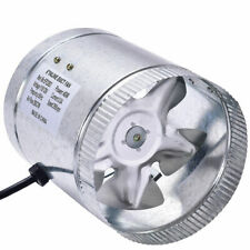 """4"""" 6"""" 8"""" inch Inline Duct Booster Fan Blower Exhaust Ducting Cooling Vent Fan"""