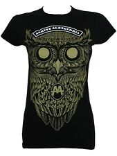 Asking Alexandria Owl Ladies Black T-Shirt