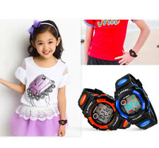 2017 Kids Child Boy Girl NEW GIFT Led Digital Sport Quartz Wrist Watch_US