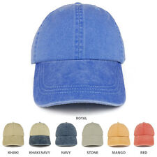 Youth Pigment Dyed Soft Cotton Twill Washed Low Profile Cap - FREESHIP