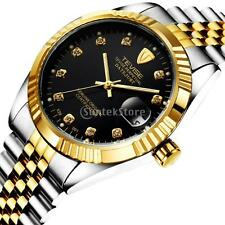 Tevise Luxury Automatic Mechanical Stainless Steel Mens Calendar Luminous Watch