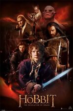 New The Hobbit The Desolation Of Smaug Fire Montage Poster