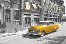 New Taxi! Yellow Cab In Manhattan Poster