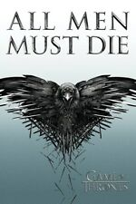 New Game Of Thrones All Men Must Die Poster