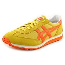 Onitsuka Tiger by Asics EDR 78 Men  Round Toe Suede Yellow Sneakers