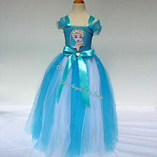 Disney Inspired FROZEN Elsa Tutu. Handmade Fancy Dress Costume. Birthday Party