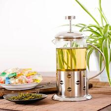 Stainless Steel French Press Coffee Tea Maker Pot with Filter-Carafe Kettle N5C2