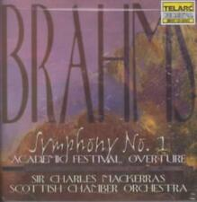 BRAHMS: SYMPHONY NO. 1; ACADEMIC FESTIVAL OVERTURE USED - VERY GOOD CD