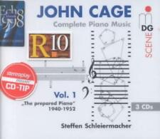 JOHN CAGE: COMPLETE PIANO MUSIC, VOL. 1 USED - VERY GOOD CD