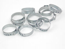CVJ Steering Gaitor Clips - 7mm Wide Zinc Plated x 25 off 15mm to 102mm Diameter