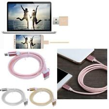 Micro USB Charger Charging Data Sync Cable Braided Cord for Samsung Android