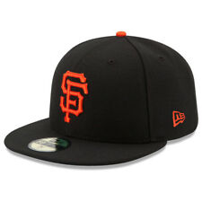 New Era 5950 Youth San Francisco Giants 2017 GAME Fitted Hat (Black) MLB Cap