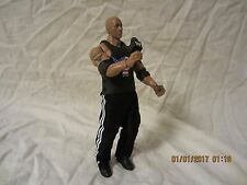WWE Mattel Elite Series 14 The Rock Action Figure, T-Shirt Sweatpants Microphone