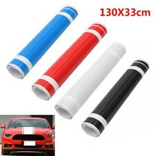 1x DIY Car Decal Vinyl Graphics stickers Hood Dual Racing Stripe for Mustang