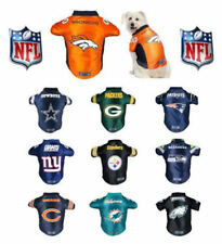 DOG JERSEY Premium NFL Football Team Logo Fan Pet Shirt ** XS - BIG DOG SIZE! **