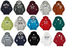 NWT AEROPOSTALE MENS FULL ZIP HOODIE SWEATSHIRT ZIP UP S M L XL XXL 3XL NEW
