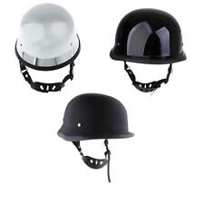 DOT Approved Motorcycle Cruiser Half Helmet Sun Shield Cover Cap S M L XL XXL