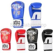 PU Leather Boxing Gloves Sparring Punching Bag Muay kickboxing Training MMA