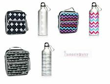 NEW Fridge to Go 8 Hours Cold Insulated Medium Lunch Box & SS 500ml Drink Bottle