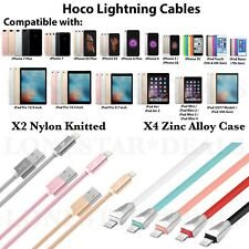 For Apple iPhone 7 Plus 6S 8 Lightning USB Charger Cable Charging Data SYNC Cord