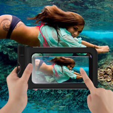 New Waterproof Underwater Swim Phone Dry Bag Pouch Case Cover For iPhone Samsung