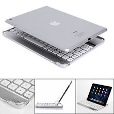 New Aluminum Wireless Bluetooth Keyboard Cover Case Stand For iPad Mini Air Pro