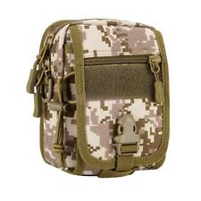 Military Tactical Molle Utility Shoulder Sling Bag Backpack Hiking Outdoor Pouch