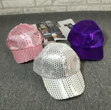 *2017 Unisex Accessories Casual Performance Hat Sport Sequined Disco Ball Cap