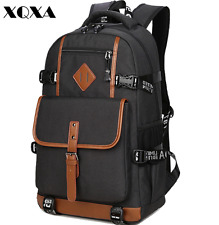 new style cool men's oxford style backpack high capacity travel school backpack