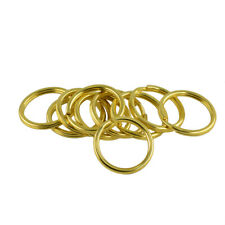 10pcs Gold Brass Jump Rings Split Ring Chain Round 25 35mm DIY Jewelry Finding