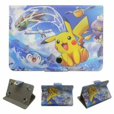 """7-7.9"""" universal tablets case pu leather cute pokemon cartoon stand flip cover"""