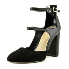 BCBGeneration Leissa Women  Round Toe Suede Black Heels NWOB