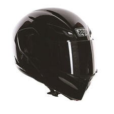 AGV Compact ST Mono Black Motorcycle Motorbike Flip Front Helmet All Sizes