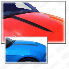 Ford Mustang Hood Cowl Side Spear Stripes Decals Pair 2010 2011 2012 Pro Motor