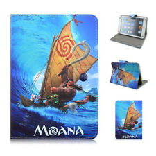 """Moana Character 7"""" 7.9"""" Universal Tablets Case PU Leather Stand Magnetic Cover"""