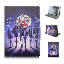 """Monster high 7""""-7.9"""" universal tablet case pu leather magnetic flip stand cover"""