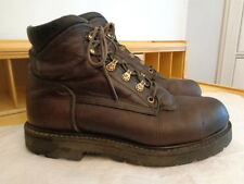 RED WING 100% genuine leather steel toe work boots men's size 9 D USA