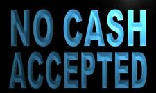 m819-b No Cash Accepted Neon Light Sign