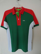 "NWT HUGO BOSS SOCCER WORLD CUP ""PREK FLAG"" MEXICO POLO SHIRT MODERN FIT"