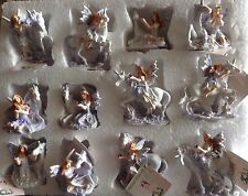 Small Lilac Glitter Flower Fairy with Unicorn - choice of 11 - Mythical-Fantasy