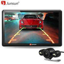 Junsun 7 inch Car GPS Navigation Bluetooth with Rear view HD Camera FM MP3 MP4