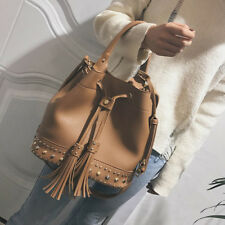 New Womens Lady Fashion Tassel Satchel Messenger Crossbody Shoulder Bag Handbag