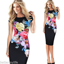 Fashion Dress Women Floral Floral Print Ruched Cap Sleeve Ruffle Party Dress